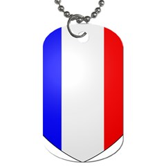Shield On The French Senate Entrance Dog Tag (two Sides) by abbeyz71