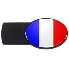 Shield On The French Senate Entrance Usb Flash Drive Oval (2 Gb) by abbeyz71