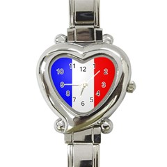 Shield On The French Senate Entrance Heart Italian Charm Watch by abbeyz71