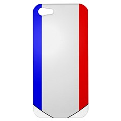 Shield On The French Senate Entrance Apple Iphone 5 Hardshell Case by abbeyz71