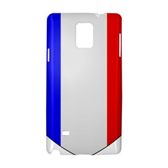 Shield On The French Senate Entrance Samsung Galaxy Note 4 Hardshell Case by abbeyz71