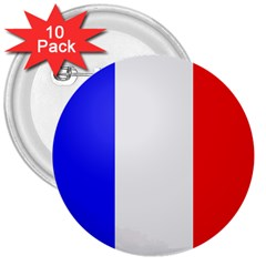 Shield On The French Senate Entrance 3  Buttons (10 Pack)  by abbeyz71