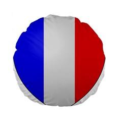 Shield On The French Senate Entrance Standard 15  Premium Flano Round Cushions by abbeyz71