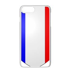 Shield On The French Senate Entrance Apple Iphone 7 Plus White Seamless Case by abbeyz71