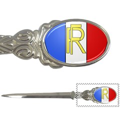 Semi Official Shield Of France Letter Openers by abbeyz71
