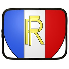 Semi Official Shield Of France Netbook Case (large) by abbeyz71