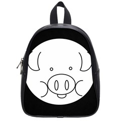 Pig Logo School Bags (small)  by Simbadda