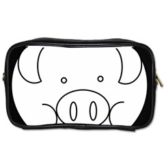 Pig Logo Toiletries Bags 2 Side by Simbadda