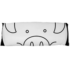 Pig Logo Body Pillow Case (dakimakura) by Simbadda