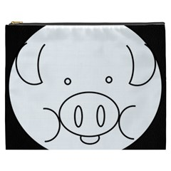 Pig Logo Cosmetic Bag (xxxl)  by Simbadda