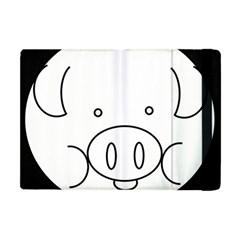 Pig Logo Apple Ipad Mini Flip Case by Simbadda