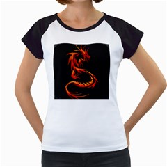 Dragon Women s Cap Sleeve T