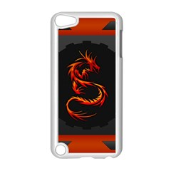 Dragon Apple Ipod Touch 5 Case (white) by Simbadda