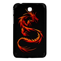 Dragon Samsung Galaxy Tab 3 (7 ) P3200 Hardshell Case  by Simbadda