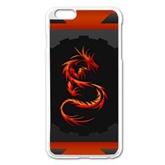 Dragon Apple Iphone 6 Plus/6s Plus Enamel White Case by Simbadda