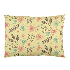 Seamless Spring Flowers Patterns Pillow Case (two Sides) by TastefulDesigns