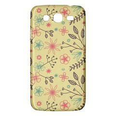 Seamless Spring Flowers Patterns Samsung Galaxy Mega 5 8 I9152 Hardshell Case  by TastefulDesigns