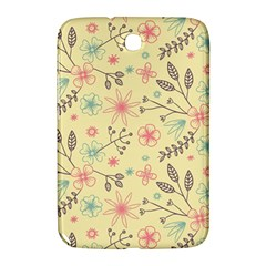 Seamless Spring Flowers Patterns Samsung Galaxy Note 8 0 N5100 Hardshell Case  by TastefulDesigns