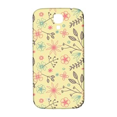 Seamless Spring Flowers Patterns Samsung Galaxy S4 I9500/i9505  Hardshell Back Case by TastefulDesigns