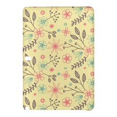 Seamless Spring Flowers Patterns Samsung Galaxy Tab Pro 10 1 Hardshell Case by TastefulDesigns