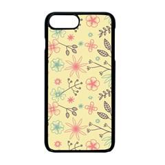 Seamless Spring Flowers Patterns Apple Iphone 7 Plus Seamless Case (black) by TastefulDesigns