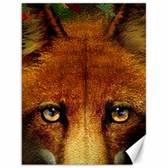 Fox Canvas 18  X 24   by Simbadda