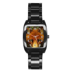 Fox Stainless Steel Barrel Watch by Simbadda