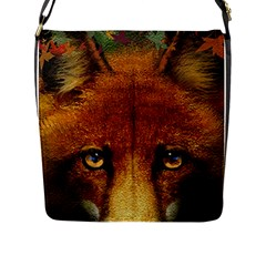 Fox Flap Messenger Bag (l)  by Simbadda