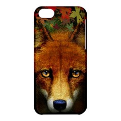Fox Apple Iphone 5c Hardshell Case by Simbadda