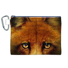 Fox Canvas Cosmetic Bag (xl) by Simbadda