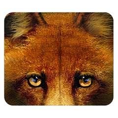 Fox Double Sided Flano Blanket (small)  by Simbadda