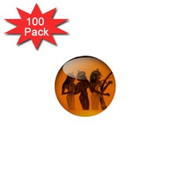 Maps Egypt 1  Mini Buttons (100 Pack)  by Simbadda