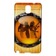 Maps Egypt Samsung Galaxy Note 3 N9005 Hardshell Case by Simbadda