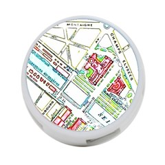 Paris Map 4 Port Usb Hub (one Side) by Simbadda