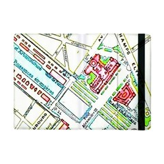 Paris Map Apple Ipad Mini Flip Case by Simbadda