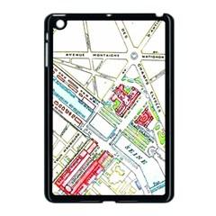 Paris Map Apple Ipad Mini Case (black) by Simbadda
