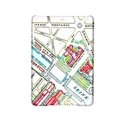Paris Map Ipad Mini 2 Hardshell Cases by Simbadda