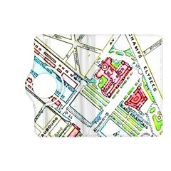 Paris Map Kindle Fire Hd (2013) Flip 360 Case by Simbadda