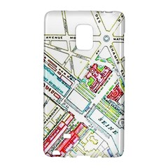 Paris Map Galaxy Note Edge by Simbadda