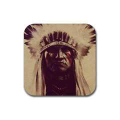 Indian Rubber Square Coaster (4 Pack)  by Simbadda