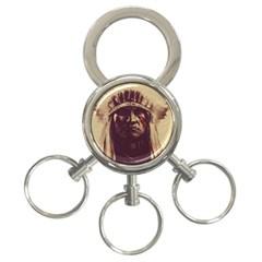 Indian 3 Ring Key Chains by Simbadda