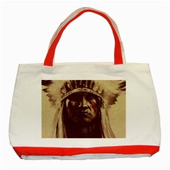 Indian Classic Tote Bag (red) by Simbadda