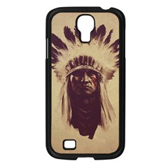 Indian Samsung Galaxy S4 I9500/ I9505 Case (black) by Simbadda