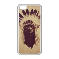 Indian Apple Iphone 5c Seamless Case (white) by Simbadda
