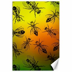 Insect Pattern Canvas 20  X 30   by Simbadda