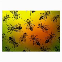 Insect Pattern Large Glasses Cloth by Simbadda
