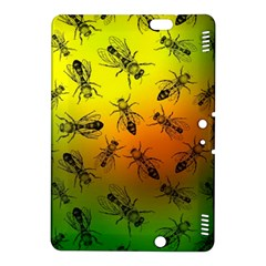 Insect Pattern Kindle Fire Hdx 8 9  Hardshell Case by Simbadda