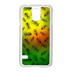 Insect Pattern Samsung Galaxy S5 Case (white) by Simbadda