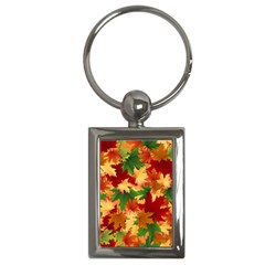 Autumn Leaves Key Chains (rectangle)  by Simbadda