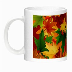 Autumn Leaves Night Luminous Mugs by Simbadda